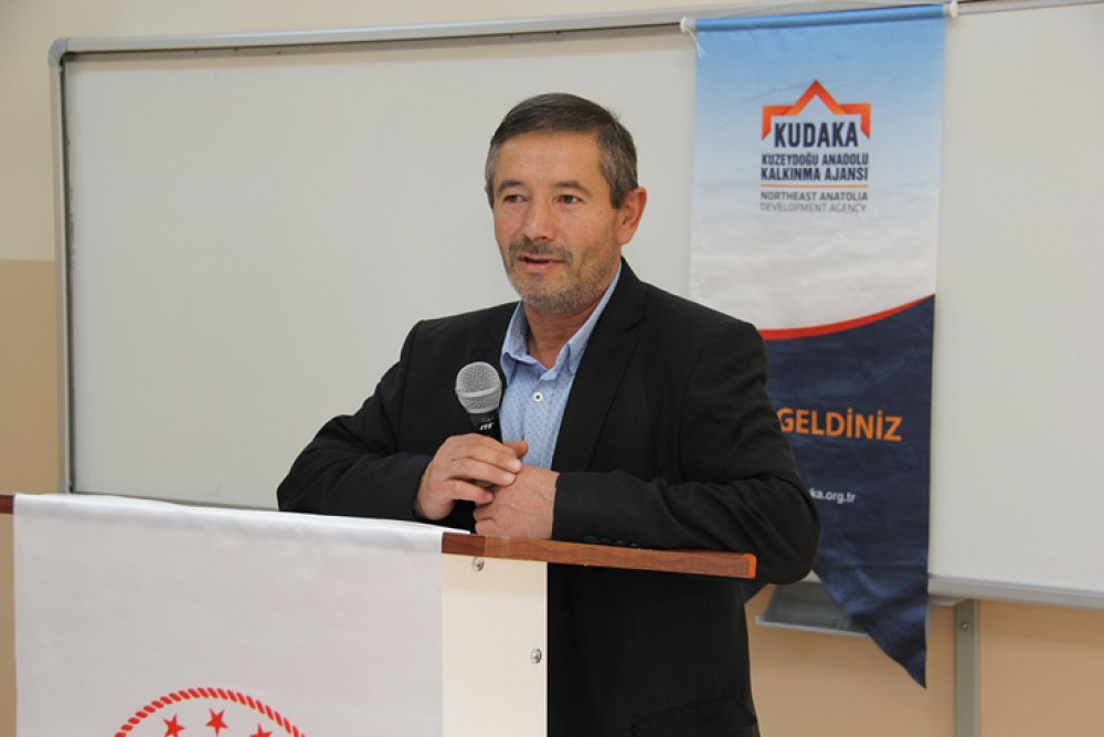 Bayburt'ta Sanayici Mezun Görüşmeleri Gerçekleştirildi