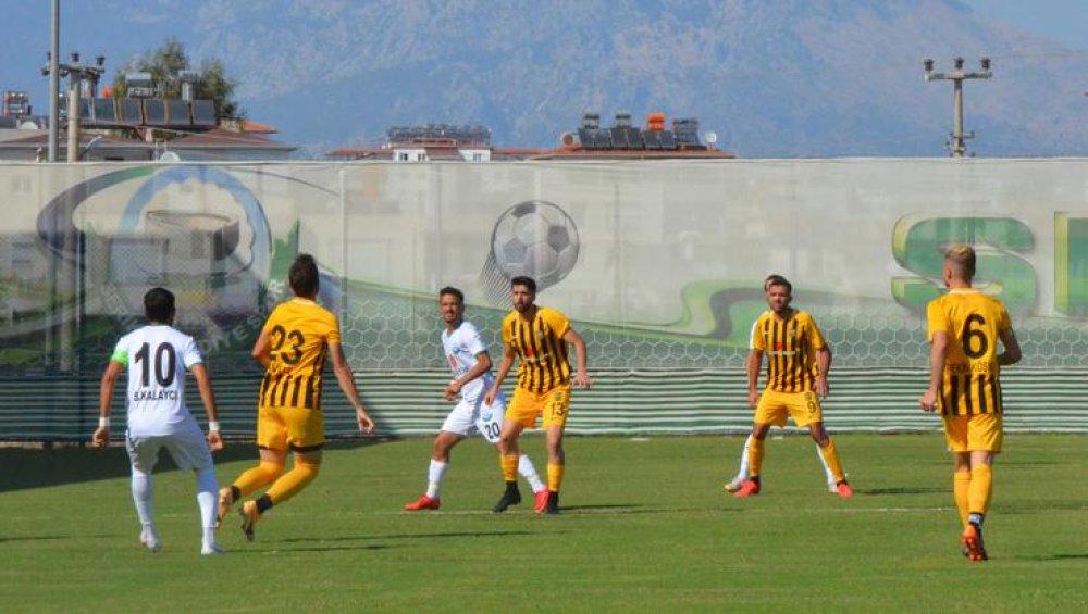 Bayburt İÖİ Spor, Serikten Eli Boş Döndü