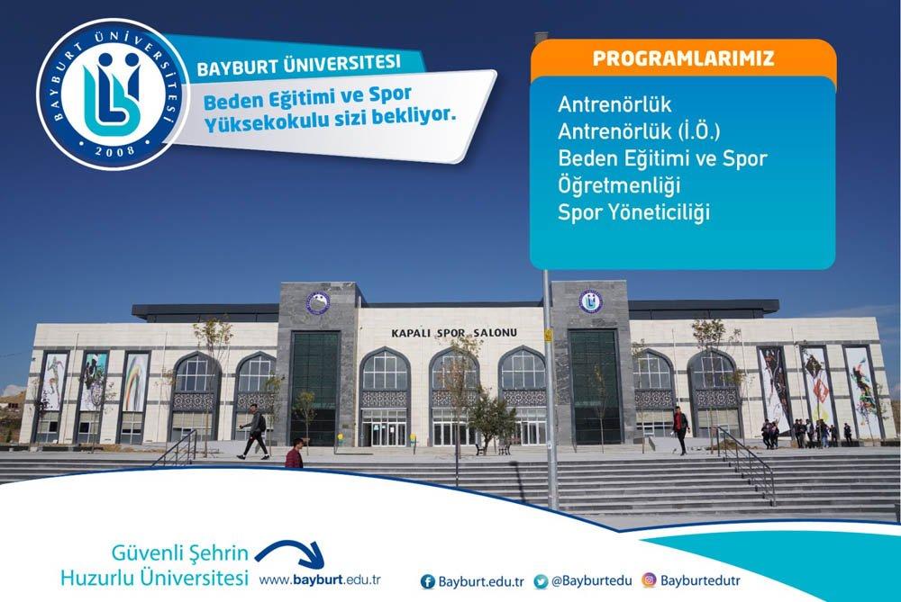 Bayburt Üniversitesi Özel Yetenek Sınavı ile Öğrenci Alacak