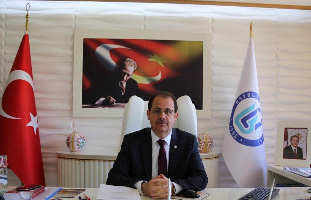 Bayburt Üniversitesi Rektörü Prof. Dr. Selçuk COŞKUN'un 23 Nisan Mesajı