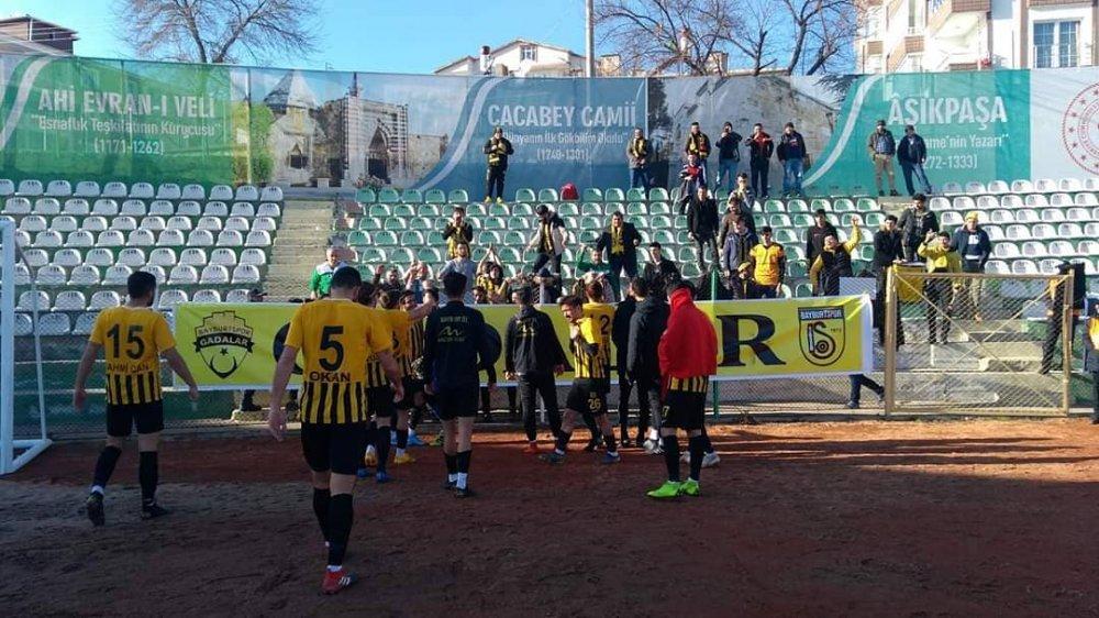 Bayburt'spor Deplasmandan 1 Puan Çıkarmasını Bildi