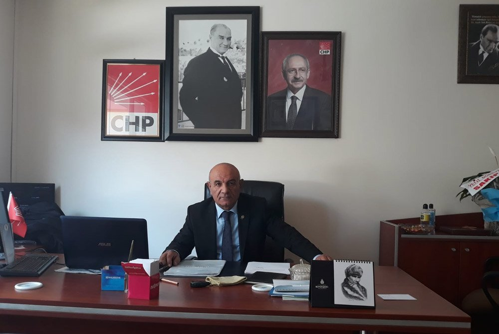 CHP İl Başkanı Erel Yardımlar yaptık, yapıyoruz