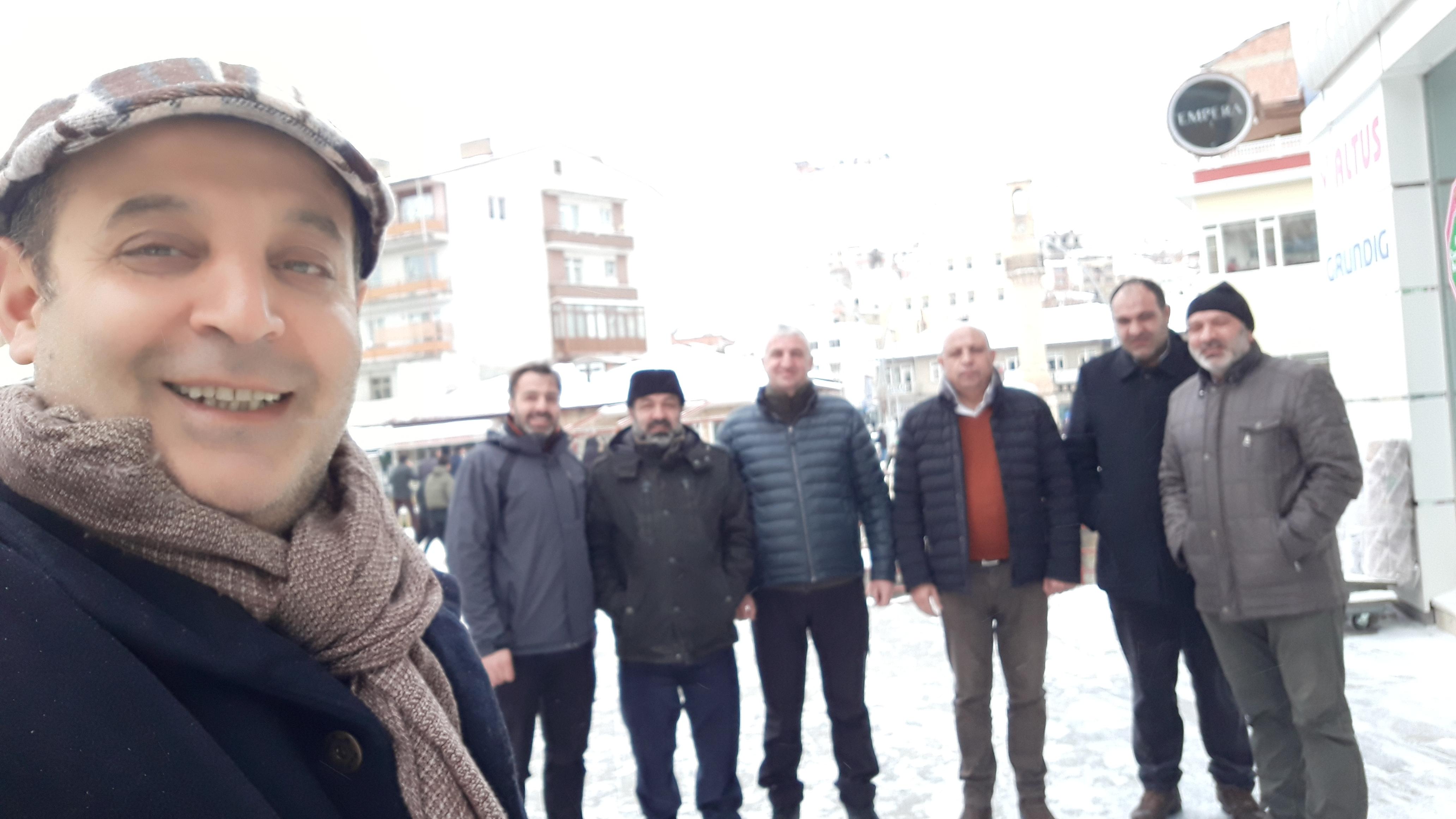 Müsiad Kars'tan Müsiad Bayburt'a Anlamlı Ziyaret