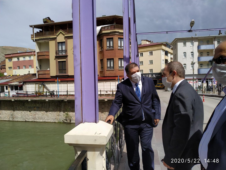 Ak Parti Bayburt Milletvekili Fetani Battal Bayburt'ta İncelemelede Bulunudu