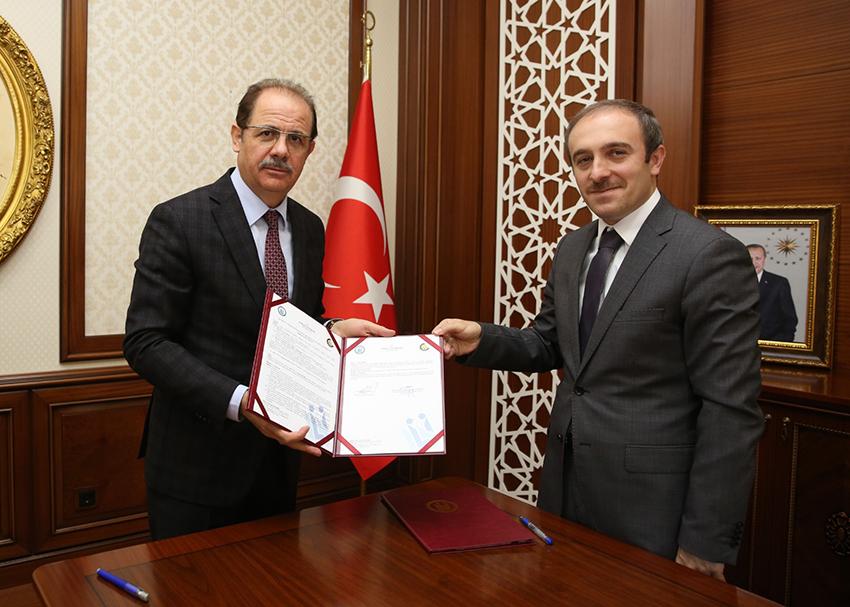 Bayburt Üniversitesi ile Bayburt OSB Müdürlüğü Arasında İşbirliği Protokolü İmzalandı