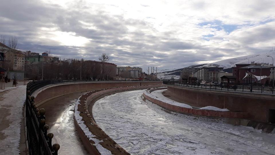 Bayburt'ta Sibirya Soğukları Etkisini Sürdürüyor