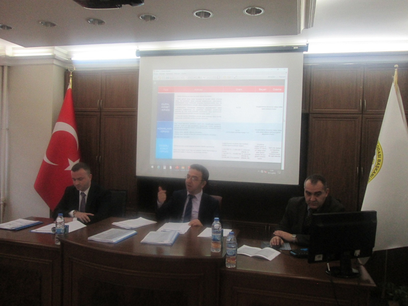 Bayburt Defterdarlığı ve Bayburt TSO tarafından yeni vergi uygulamaları hakkında bilgilendirme toplantısı düzenlendi