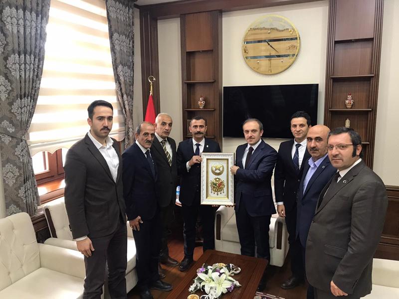 Türkiye Kamu Sen'den Vali Epçim'e Ziyaret