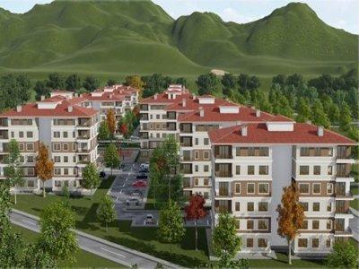 100 Bin Sosyal Konut Projesi Kapsamında Bayburt'ta 300 konut Yapılacak