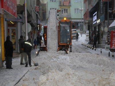 Bayburt Belediyesi Kar Alarmında