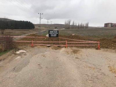 Bayburt Girişine Ait 5 Köy Yolu Kapatıldı