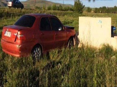 Bayburt'ta Trafik Kazası 4 Yaralı