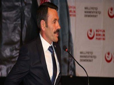 BBP İl Başkanı BOZO : Alparslan Türkeş'i Anlatmak Bir Kaç Satıra Sığmaz