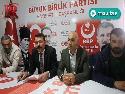 BBP İl Başkanı Burhan Bozo : Ülkücülerin En Büyük Üç Düşmanının İmansızlık, Ahlaksızlık ve Cahilliktir