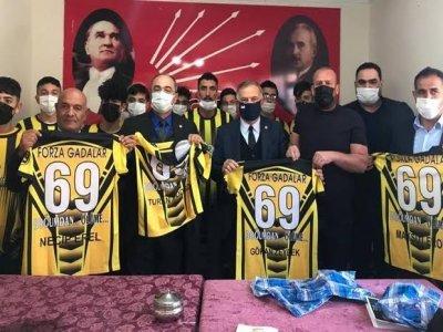 CHP Milletvekilleri Zeybek Ve Aydoğdu Bayburtu Ziyaret Etti