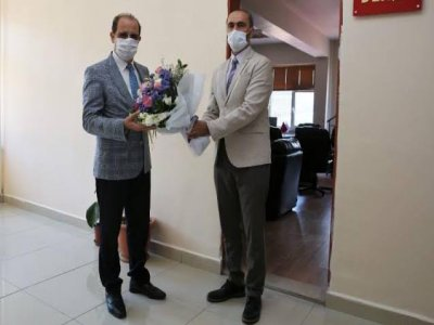 Dekan Türkmen Göreve Başladı