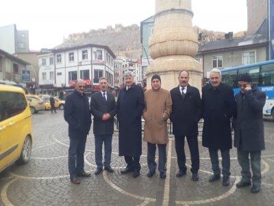 İYİ Parti Heyeti Bayburt'u Ziyaret Etti