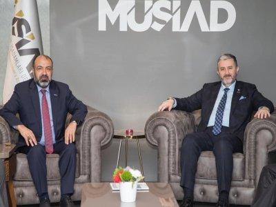 MÜSİAD Bayburt Başkanı Erdal Şentürk'ün İstifasını MÜSİAD Genel Başkanı Abdurrahman Kaan Kabul Etmedi