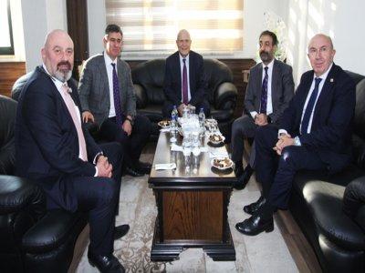 TBB Başkanı Metin Feyzioğlu Bayburt Belediye Başkanı Pekmezci'yi Ziyaret Etti