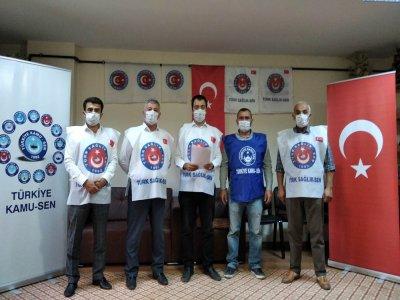 Türk Sağlık Sen Bayburt İl Başkanı Covid 19 Sürecini Değerlendirdi