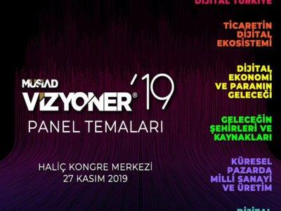 VİZYONER19 27 Kasım'da İstanbul Haliç Kongre Merkezinde Kapılarını Açıyor