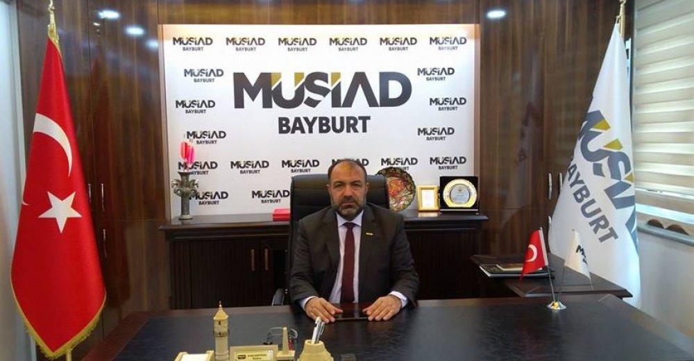 MÜSİAD Bayburt Başkanı Erdal Şentürk Diyanet İşleri Başkanımızın Yanındayız