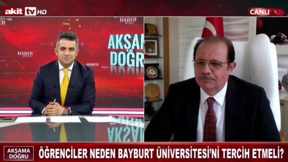 Rektör Coşkun, Akit TV Canlı Yayınına Katıldı