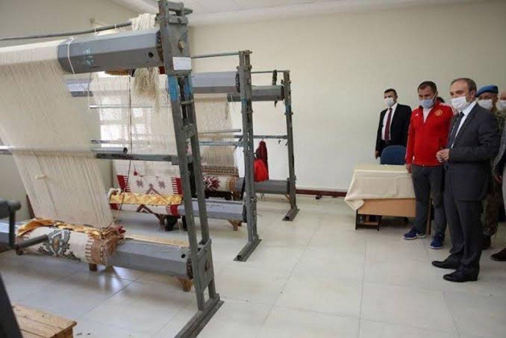 Vali Epçim'den İlçe Halk Eğitim Merkezine Ziyaret